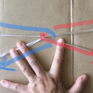 あさイチで紹介! 簡単に大量のダンボールをひも一本でまとめる方法