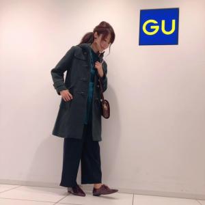 【GU新作】ウールブレンドのダッフルコートが5千円代なのに可愛すぎ♡