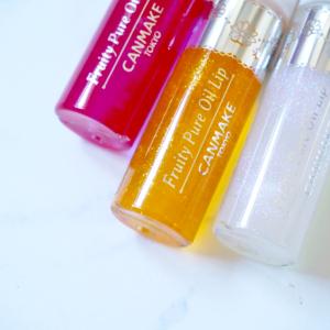 【キャンメイク】ついに登場!美容オイル成分98%のオイルリップで乾燥知らずな唇に❤️