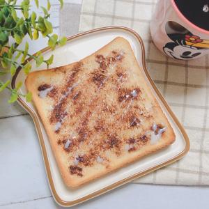 食パンで超簡単に作れる【シナモンロール風トースト】が激ウマ♥