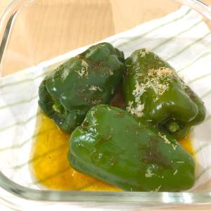 料理研究家リュウジさんのレシピ「まるごとピーマン」がスゴイ!ヘタも種も丸ごと食べられる!?