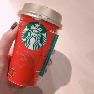 【スタバ】チルドカップもクリスマス♡ダブルベリーモカが神の飲み物と話題!