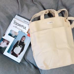 【TODAYFUL】 のムック本が登場!トートバッグが使いやすいとオシャレさんの間で話題に♡