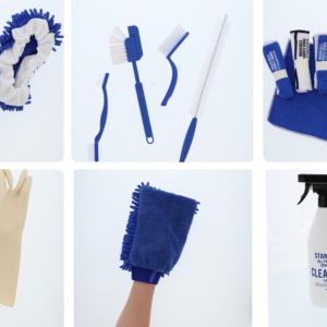 【3COINS】ピンクの次はブルー推し!?清潔感のあるブルーの大掃除グッズが登場!