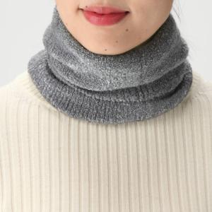 【無印良品】首に密着して隙間ができない!「ブークレネックウォーマー」は暖かくって最高!