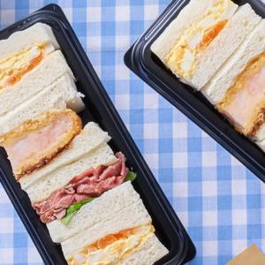 【セブン】贅沢ローストビーフや海老カツや卵まで!「アソートBOX」サンドが最高すぎる♥