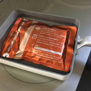 【時短テク】卵焼き器を使えばレトルトカレーが倍速で温められるって知ってた?