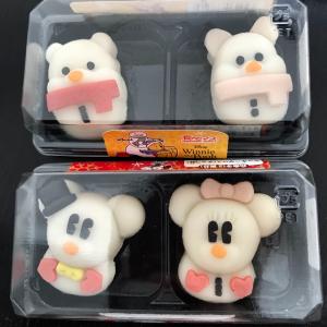 【セブン】ディズニーのキャラ和菓子「食べマス」が可愛すぎる♡