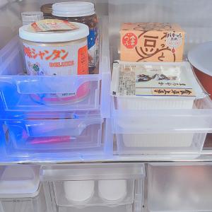 【セリア】のハーフトレー&ラックが冷蔵庫の収納に使える!ごちゃつきがちな調味料がスッキリ♪