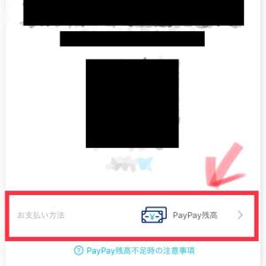【PayPay】アプリの落とし穴!?チャージ残高から支払いたい場合には注意すべし!