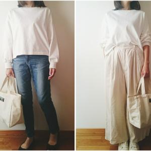 【GU新作】ゆるっと着れる「ヘビーウェイトオーバーサイズT」がボリューム袖でかわいい♥