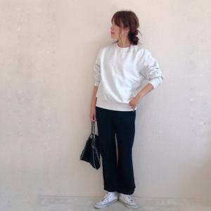 【GU新作】ゆるっと着れるメンズのスウェットが人気!990円なのもうれしい♥
