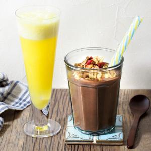 むくみ&便秘知らずに!夏の不調を解消する腸活ドリンクレシピ5選!パイナップル、バナナ、ココアを使って