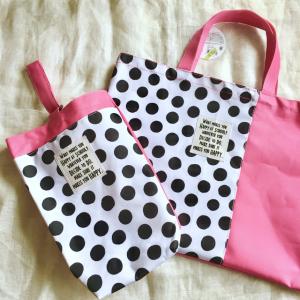 【3COINS】手提げバッグ、上履き入れ、お弁当袋も揃っちゃう!300円で入園&入学準備完了♡