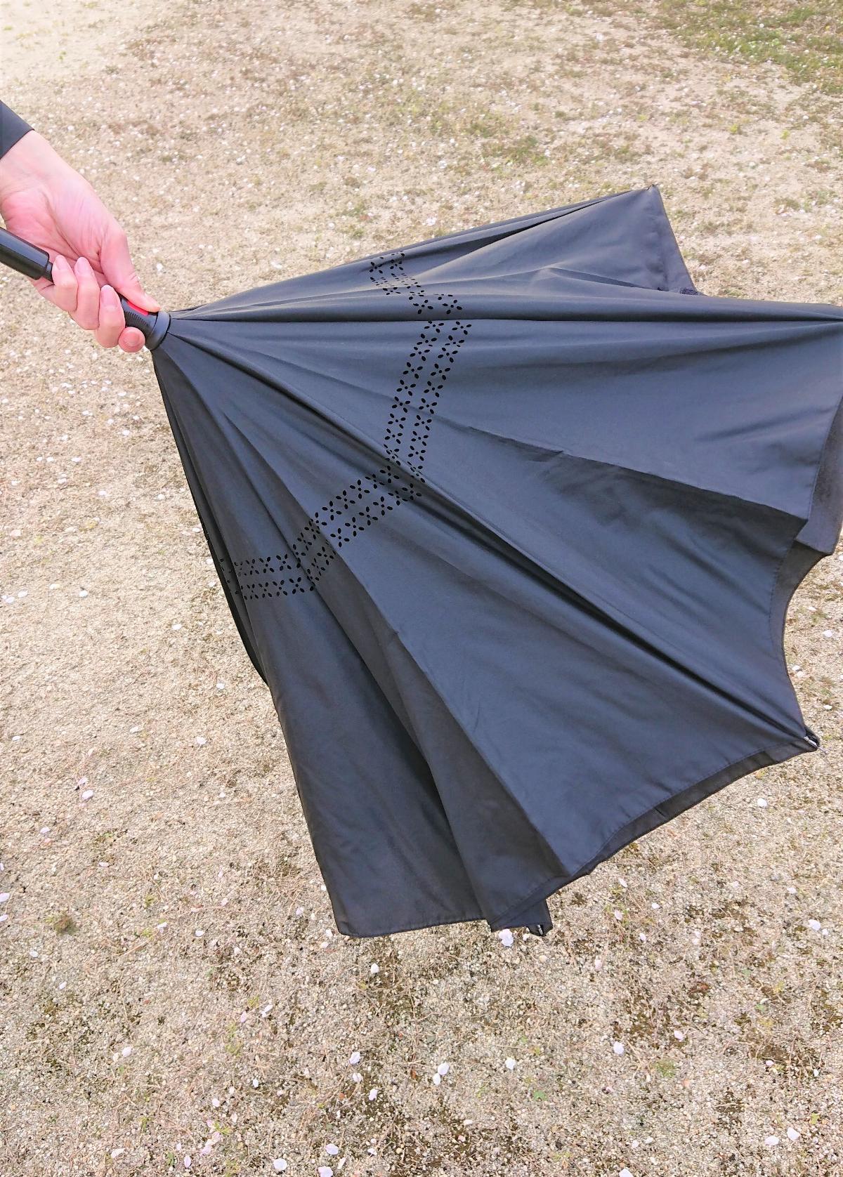 逆さ 傘 ニトリ