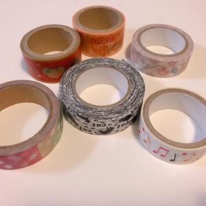 ラップの箱で作るマスキングテープの収納BOX!簡単なのに使いやすくて超便利♪