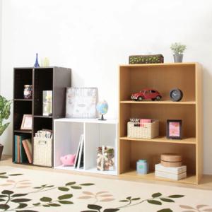 【ニトリ】のカラーボックスが優秀すぎ!色やサイズも豊富で棚板の位置まで変えられる!!