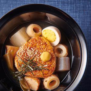 【セブン】のおでん&焼きおにぎりで作る「おでん茶漬け」がまるで料亭の味♡