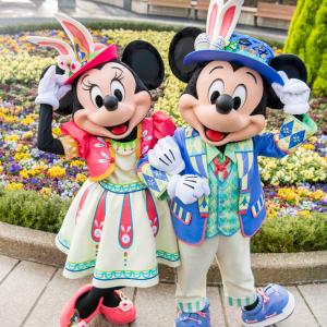 【東京ディズニーシー】のイースターでミッキーとミニーのニュールックに注目!顔も変わってる!?
