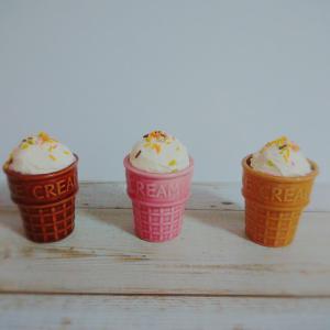 見つけたら即買い!!【セリア】アイスクリームのコーン型陶器カップが可愛いすぎる!