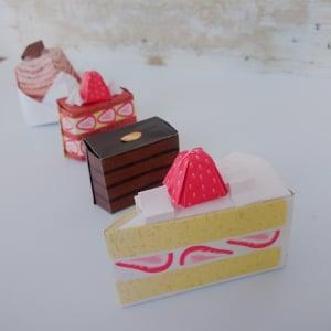 【セリア】で発見!「ケーキ屋さんおりがみ」が可愛い♡お店屋さんごっこもできちゃう!