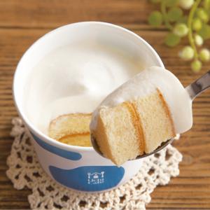 【ローソン】とろけるクリームをすくって食べるシフォンケーキがまさに至福の味わい♡