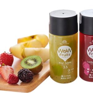 """【セブン】限定のジュース「WoW fruits(ワオフルーツ)」はまさに""""飲むフルーツ""""な濃厚さ♡"""