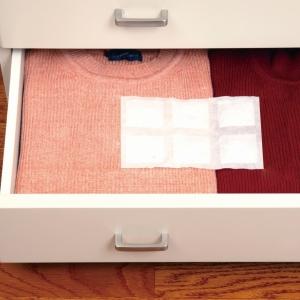衣替えの季節。衣類やキッチンの引き出し収納は、虫も湿気も防いで清潔に