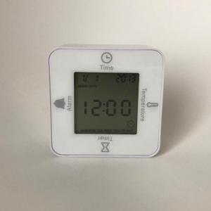 【ダイソー】の「4WAYキッチンタイマー」が便利すぎ!時計・アラーム・タイマー・温度計が1つに!!