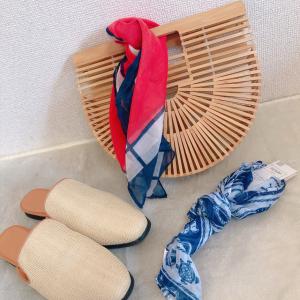 【ダイソー】お洒落スカーフが100円!?肌触りも良くてコスパ最強なので絶対買い!!