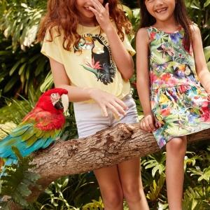 【H&M】と【ケイト・モーガン】がコラボ!トロピカルで夏らしいキッズコレクションが可愛い!