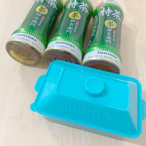 【期間限定】サントリーの特茶を3本買うともらえる「BRUNO」ランチボックスが激かわ♡