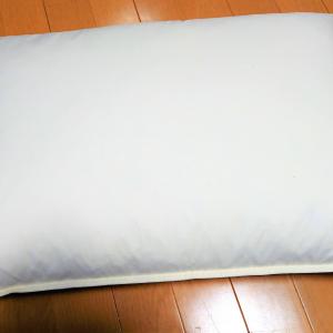 【ニトリ】冷感素材の「ぴったりニット枕カバー」が超快適♪これからの季節に役立ちそう!