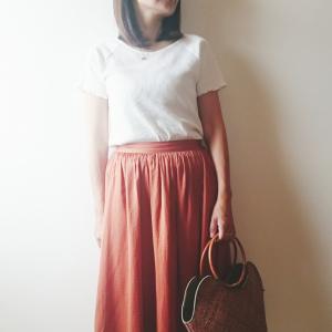 【アメリカンホリック】のリブTシャツがプチプラなのに優秀すぎる!袖と裾のメロウ加工もかわいい♡