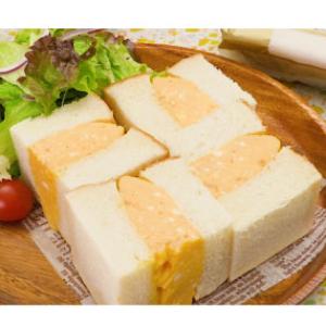 【セブン】のHPで見た「レンジで簡単!もちもち玉子サンド」を作ってみた!