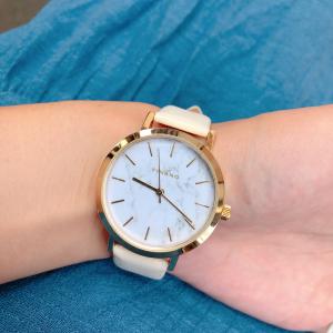 【ダイソー】高見えする大理石柄の腕時計がまさかの500円!?
