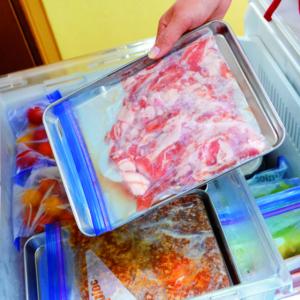 【時短調理】便利が詰まった冷凍室の作り方!冷凍保存テクも紹介