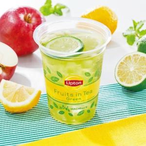 【ローソン】「Lipton フルーツインティー」にまさかの緑茶verが登場!さっそく飲んでみた!!