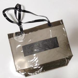 【キャンドゥ】の「クリアトートバッグ」が100円なのに優秀すぎる!夏のサブバッグにおすすめです♡