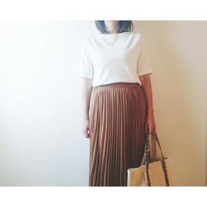 【ユニクロ】高見え&細見えが叶う1000円リブTシャツが超優秀!