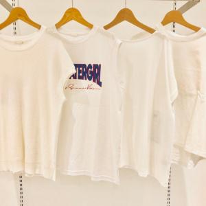 【GUの白Tシャツで着やせ!】残暑~秋も超活躍!1枚でもインナーでもヘビロテ確定なのだ