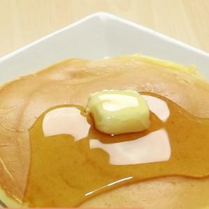 【料理の裏ワザ】お店みたいな焼き目のきれいなホットケーキを作る方法【動画付き】