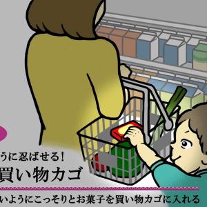 レジに行く前にチェック!子どもはこっそりと「カゴ」に入れている【育児あるある図鑑File.24】