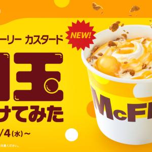 【マクドナルド新作】まさかの白玉トッピング!?いまだかつてない「マックフルーリー」が登場!!
