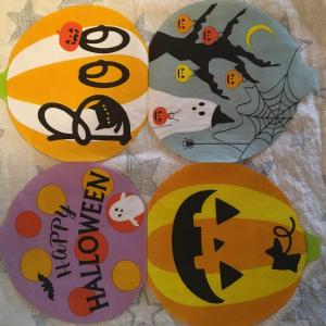 【ダイソー】の「ハロウィンテーブルペーパー」がかわいい♡なんと4種類の絵柄が楽しめちゃう♪