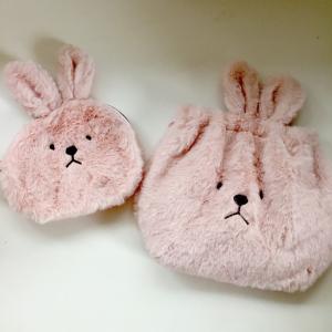 【ダイソー】もっふもふの可愛いウサギグッズが大量入荷中!ゆるい表情にも癒される~♡