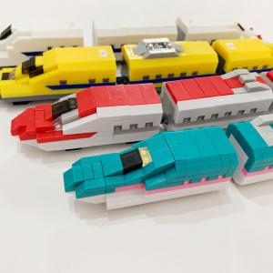 【ダイソー】人気の「プチブロック」に新幹線シリーズが登場!100円には見えないクオリティの高さに衝撃
