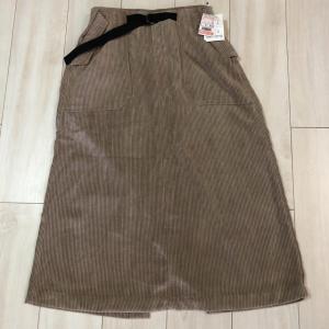 【しまむら】秋冬に活躍するコーデュロイAラインスカートが税込1900円!?