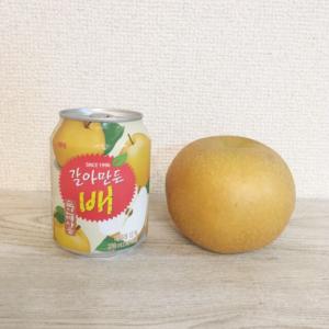韓国では定番品!?すりおろしの梨ジュースが美味しすぎる♡