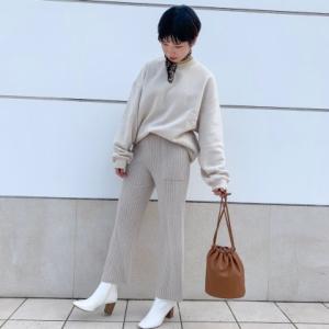 【GU】トレンドのスクエアトゥのブーツが登場!低反発の中敷きや抗菌防臭機能付きなのに2990円!?